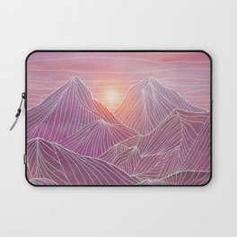 Lines in the mountains 02 Laptop Sleeve