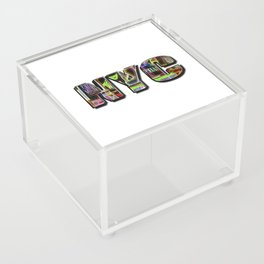 NYC (typography) Acrylic Box