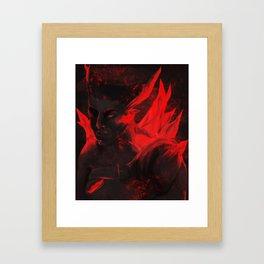 Bad End Framed Art Print