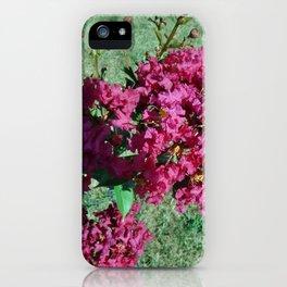 Crepe Myrtle 2 iPhone Case