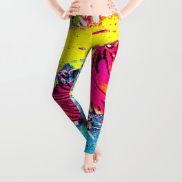 Tiger Bright Leggings