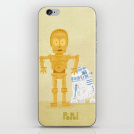 C3PO and R2D2 iPhone Skin