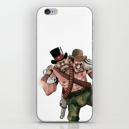 The Warner Brothers (color) iPhone Skin