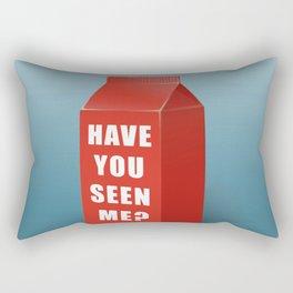 Have you seen me? Rectangular Pillow