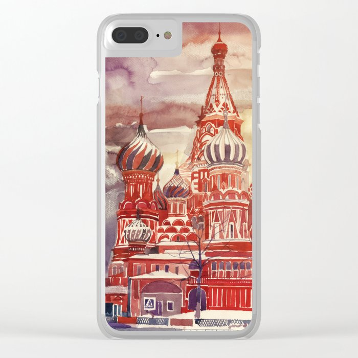 Moscow Clear iPhone Case