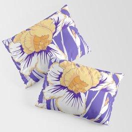 Purple iris Pillow Sham