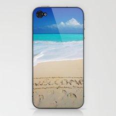 Welcome Home Beach Bum iPhone & iPod Skin
