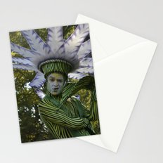 flower man Stationery Cards