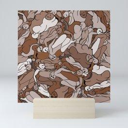 Chocolate Coffee Body Slugs Mini Art Print
