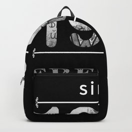 1989 Freedom Since The Fall Of The Wall Backpack