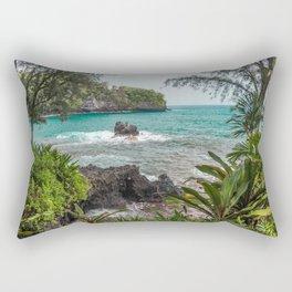 Hawaiian Turquoise Cove Rectangular Pillow