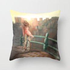 Keep your balance! Throw Pillow