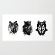 The Wolfpack Art Print