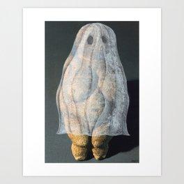 """Ghost Woman of Willendorf"" Art Print"
