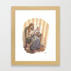 Félicitations, c'est un Monstre! / Congratulations! It's a Monster! Framed Art Print