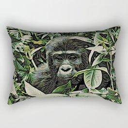 Animal ArtStudio 22516 Gorilla Baby Rectangular Pillow