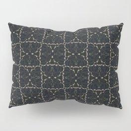 Bow Tie Pattern - Black Pillow Sham