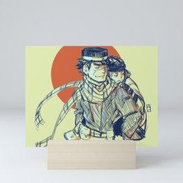 Sugimoto & Asirpa Mini Art Print