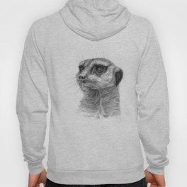 Meerkat-portrait G035 Hoody
