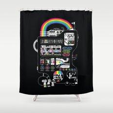 The Icecreamator Shower Curtain