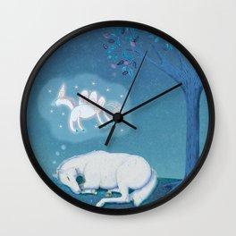 If I Were a Unicorn Wall Clock