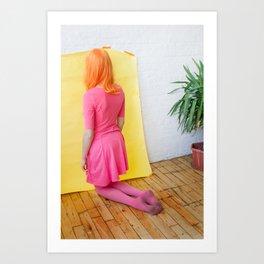 cheyenne as me Art Print