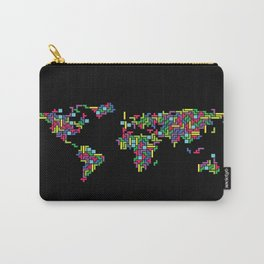Tetris world (black one) Carry-All Pouch