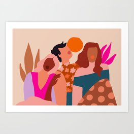 Together II Art Print