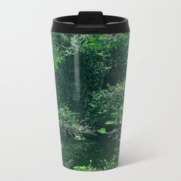 Greenery Metal Travel Mug