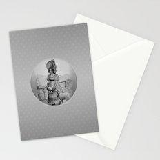 Happy Easter - Vintage little girl. Stationery Cards