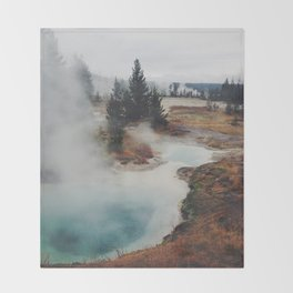 Hot Springs Throw Blanket