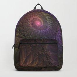 Fantasy Spirals Fractals Art Backpack