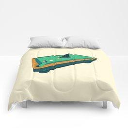Pool shark Comforters