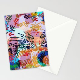 Colorful mood Stationery Cards