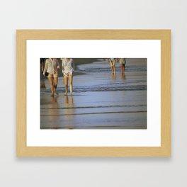 2's at the Beach Framed Art Print