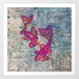 KOI CARP Art Print
