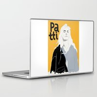 melissa smith Laptop & iPad Skins featuring Patti Smith by Elin Lucassi