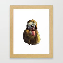 Slot s2 Coffee Framed Art Print