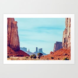 The North Window - Monument Valley Art Print