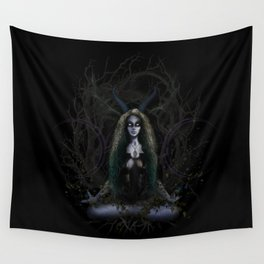 Earth Witch - Elements Collection Wall Tapestry