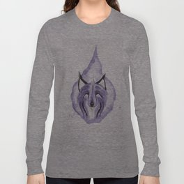 Hitodama the Spirit Wolf. Long Sleeve T-shirt