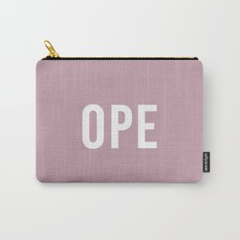 Ope Pink Carry-All Pouch
