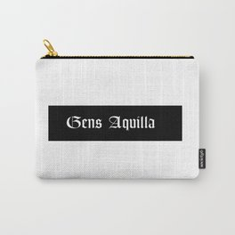 Gens Aquilla White Carry-All Pouch