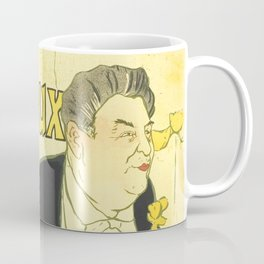 """Henri de Toulouse-Lautrec """"Caudieux"""" Coffee Mug"""
