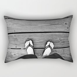 The Path I Walk Rectangular Pillow