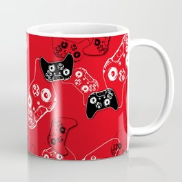 Video Game Red Coffee Mug