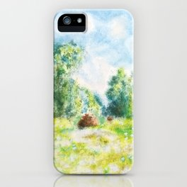 Spring in Giverny Monet Claude iPhone Case