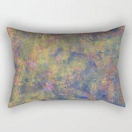 Detail: J Train Blues Rectangular Pillow