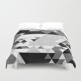 The Triangles Duvet Cover