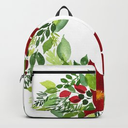 Crimson and Clover Backpack